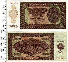 Изображение Банкноты Германия 1000 марок 1948  UNC