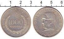 Изображение Монеты Европа Финляндия 1000 марок 1960 Серебро XF