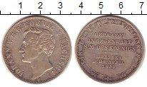 Изображение Монеты Германия Саксония 1 талер 1855 Серебро XF