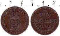 Изображение Монеты Европа Австрия 1 крейцер 1816 Медь XF
