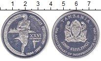 Изображение Мелочь Танзания 2000 шиллингов 1996 Алюминий UNC-
