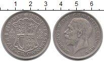 Изображение Монеты Европа Великобритания 1/2 кроны 1936 Серебро XF