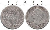 Изображение Монеты Европа Великобритания 1 флорин 1901 Серебро VF