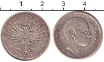Изображение Монеты Италия 1 лира 1906 Серебро XF-