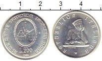 Изображение Монеты Италия 100 лир 1965 Серебро UNC- 900 лет Университета