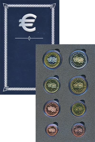 Изображение Подарочные монеты Европа Словения Европроба 2003 2003  UNC