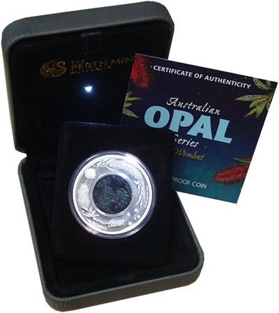 Изображение Подарочные монеты Австралия Вомбат 2012 Серебро Proof