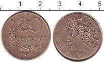 Изображение Дешевые монеты Бразилия 20 сентаво 1967 Медно-никель VF+