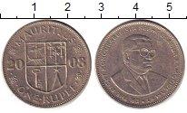 Изображение Дешевые монеты Маврикий 1 рупия 2008 Медно-никель XF