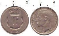Изображение Дешевые монеты Европа Люксембург 1 франк 1965 Медь XF