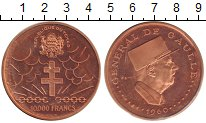Изображение Монеты Чад 10000 франков 1960 Медь Proof-