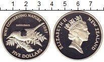 Изображение Монеты Австралия и Океания Новая Зеландия 5 долларов 1997 Серебро Proof-