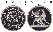 Изображение Монеты Европа Греция 10 евро 2004 Серебро Proof-