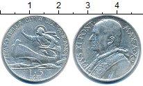 Изображение Монеты Европа Ватикан 5 лир 1931 Серебро XF