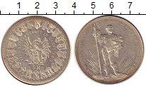 Изображение Монеты Швейцария 5 франков 1879 Серебро UNC-