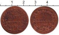 Изображение Монеты Швейцария 1 батзен 1799 Серебро VF Республика Хелветика