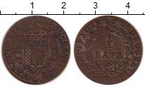 Изображение Монеты Швейцария Ньюшатель 1/2 батзена 1808 Серебро XF-
