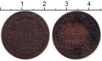 Изображение Монеты Швейцария Сен-Галлен 1/2 батзена 1813 Серебро VF