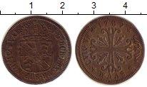Изображение Монеты Швейцария Ньюшатель 1/2 батзена 1789 Серебро XF-