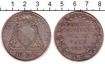 Изображение Монеты Швейцария Цюрих 40 батзен 1813 Серебро VF