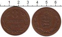 Изображение Монеты Гернси 8 дублей 1949 Медь XF