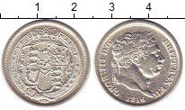 Изображение Монеты Европа Великобритания 6 пенсов 1816 Серебро XF