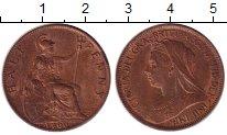 Изображение Монеты Европа Великобритания 1/2 пенни 1900 Медь XF