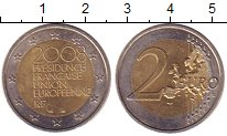 Изображение Монеты Франция 2 евро 2008 Биметалл XF