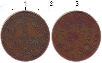 Изображение Монеты Европа Австрия 1 крейцер 1859 Медь VF