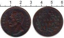 Изображение Монеты Малайзия Саравак 1 цент 1887 Медь XF