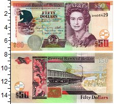 Изображение Банкноты Белиз 50 долларов 2010  UNC