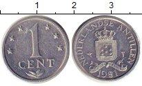 Изображение Монеты Нидерланды Антильские острова 1 цент 1981 Алюминий XF