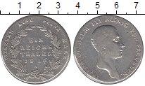 Изображение Монеты Пруссия 1 талер 1816 Серебро VF Фридрих  Вильгельм I