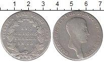 Изображение Монеты Пруссия 1 талер 1815 Серебро VF Фридрих  Вильгельм I