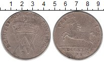 Изображение Монеты Брауншвайг-Вольфенбюттель 1 талер 1729 Серебро VF