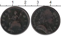 Изображение Монеты Европа Великобритания 1 фартинг 0 Медь VF-