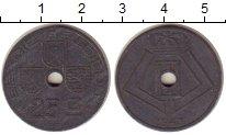Изображение Монеты Бельгия 25 сантим 1943 Цинк VF