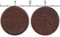 Изображение Монеты Европа Нидерланды 1 цент 1941 Бронза XF