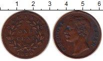Изображение Монеты Саравак 1 цент 1870 Медь XF