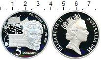 Изображение Монеты Австралия 5 долларов 1995 Серебро Proof Елизавета II.  Уилья
