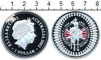 Изображение Монеты Австралия 1 доллар 2002 Серебро Proof