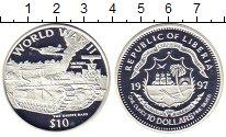Изображение Монеты Африка Либерия 10 долларов 1997 Серебро Proof