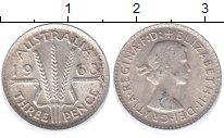 Изображение Монеты Австралия и Океания Австралия 3 пенса 1963 Серебро XF