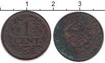 Изображение Монеты Европа Нидерланды 1 цент 1927 Бронза VF