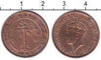 Изображение Монеты Цейлон 1 цент 1945 Бронза VF