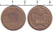 Изображение Монеты Великобритания Борнео 1 цент 1938 Медно-никель XF
