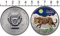 Изображение Монеты Африка Конго 240 франков 2008 Серебро Proof-
