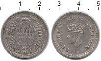 Изображение Монеты Индия 1/2 рупии 1942 Серебро XF