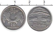 Изображение Монеты Ливан 10 пиастр 1929 Серебро VF