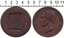 Изображение Монеты Европа Бельгия Медаль 1860 Медь UNC-